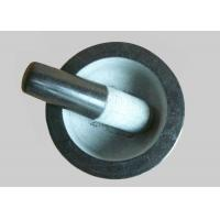 Quality Deep Marble Grinding Bowl Convenient High Durability For Creating Pastes for sale