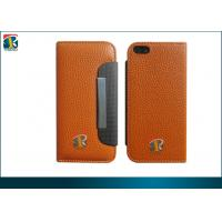 Quality Iphone 5 Leather Pouch Case, Wallet Litchi Leather Case For Iphone 5 With Card Slot, Rope for sale