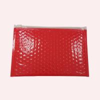 Quality Clear Plastic PE Zipper Mailer Bubble ziplock bag with Custom Printed for sale