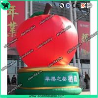 Quality The Giant Event Advertising Inflatable Apple Fruits Replica Model for sale