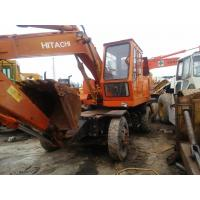 Buy cheap used excavator hitachi WH04 wheel excavator digger for sale from wholesalers