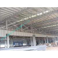 Quality Light Weight Pre-engineered Steel Building With Corrugated Sheet Surrounding for sale