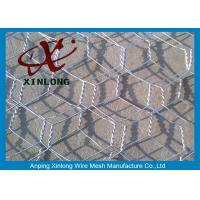 Quality Hexagonal Small Gauge Chicken Wire , Small Hole Chicken Wire BWG19-25 for sale
