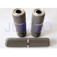 Quality High Performance Pleated Filter Element With 316L Stainless Steel Material for sale