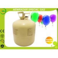 Quality Steel Disposable Balloon Helium Tank Eco Friendly With 22L / 13L for sale