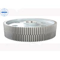 45 60hrc Hardness Forging Double Helical Gear Hobbing