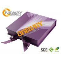 Quality Printed Packaging Boxes , Luxury Cardboard Printing Dress Packing Designs for sale