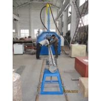China Automate Traffic Garden Pole Shut and Welding Machine Hydraulic Control Clamp Pole Bottom Trolley Draft on sale