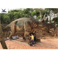 Quality Realistic Full Size Dinosaur Models , Garden Artificial Life Size Dinosaur Models  for sale