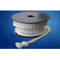Quality Reinforcement Braided E Glass Fibre Rope For Stove Sealing , 200℃ - 250℃ for sale