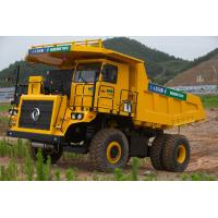 Quality Hybrid Power Coal Unloading Equipment , 45 Ton Electric Mining Dump Truck for sale