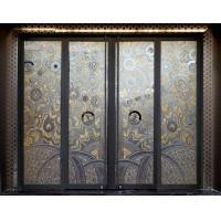 Decorative glass door panels quality decorative glass for Decorative tempered glass panels