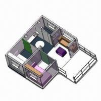 Quality Modular House with Living Room, Dining Room, Wash Room, Outdoor Platform for sale