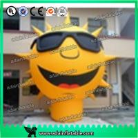 Quality 3m Sunglasses Advertising Inflatable Sun Cartoon/Event Party Inflatable Sun Decoration for sale