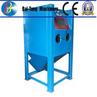 Quality Stainless Steel Body Wet Abrasive Blasting Cabinet , Wet Sand Blasting Machine Pneumatic Pedal Switch for sale