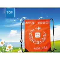 Quality Polyester Sport Drawstring Backpack Recycled Casual Outdoor Traveling for sale