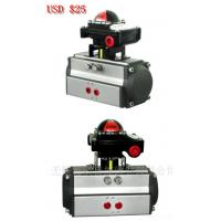 Quality AT series double action(DA) and spring return (SR) air rotary actuator with limit switch box for sale