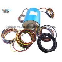 Conductive Through Bore Slip Ring 70mm With 24 Wires Contact Slip Ring Assemblies rotating electrical connector