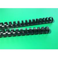 22MM Black Plastic Spiral Binding Combs For Documents / Presentations