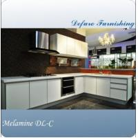 German Style Gloss Lacquer Flat Pack Kitchen Cabinet For