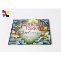Quality Educational Hardcover Book Printing Customized Full Color Printing Matt Lamination for sale