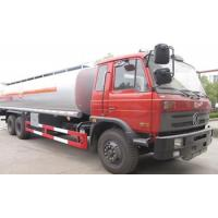Buy cheap 6x4 20 Cbm Fuel Oil Tanker Truck , Red Tanker Truck For Fuel Transport from wholesalers