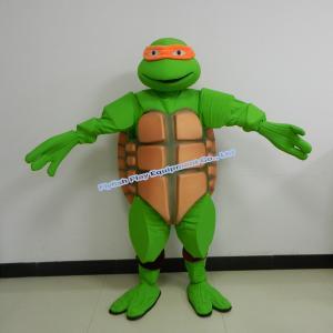 China teenage mutant ninja turtles mascot costume on sale