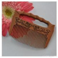 China Bamboo Joint Craft Comb on sale