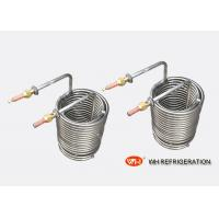 Buy cheap Titanium Pipe Spiral Coil Tubing Heat Exchanger High Conductivity For Mariculture from wholesalers