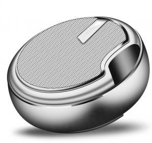 China Aluminum Alloymini Portable Bluetooth Speakers Chrome Plating Heavy Metal Design on sale