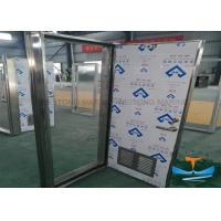 Quality Stainless Steel Marine Watertight Doors Customized Dimension Galvanized Finishes for sale