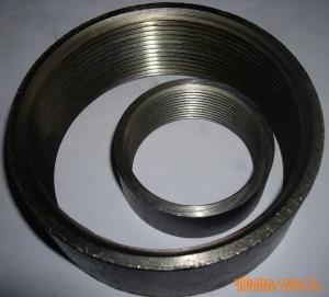 Black DIN/BSPT steel pipe sockets,couplings Professional manufacturer