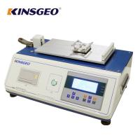 Quality Digital Display Plastic Film Sheet Static Coefficient Friction Tester with Curve for sale