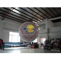 China Filled helium sphere balloons with two sides digital printing for Outdoor advertising on sale
