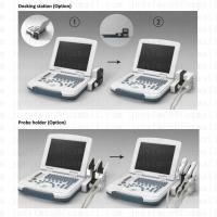 Quality 80 elements Portable BW Ultrasound Scanner Diagnosis System with  LED Monitor for sale