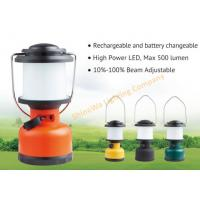 Quality Portable Rechargeable Camping Tent Lights / Battery Operated Outdoor Lanterns for sale