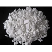 China Calcium Chloride/CaCl2 Flake Manufacturer for Industrial grade on sale