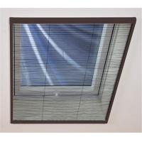 Buy Stable Aluminium Frame Pleated Window Screen Easy Installation at wholesale prices