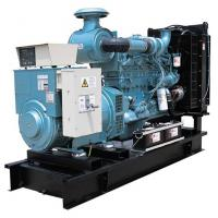 Quality Brushless AC Three Phase Generator , 275kva Industrial Generator Set With AVR for sale