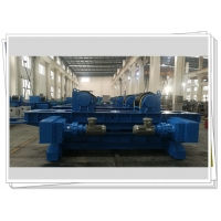 Quality Tank Surface Treatment 100T welding turning rolls Rubber Roller Motorized for sale