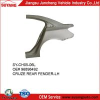 China Auto Metal Body Parts Rear Fender For Chevrolet Cruze on sale