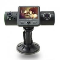 Quality Full HD 1080P HDMI H.264 Dual Camera Lens Night Vision DVR car video recorder with GPS G-sensor SC310 for sale