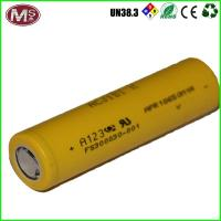 Quality Lifepo4 Lithium Ion Battery Cells 10ah 3.2v , 18650 Rechargeable Li Ion Battery for sale