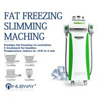 China Best Supplier Cryolipolysis+Vacuum+Multipolar RF+Cavitation Body Sculpting Unit on sale