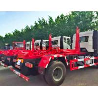 Quality Hooklift Hook Lift Bin Waste Collection Trucks 10 - 15 Tons Capacity 4x2 Driving Type for sale
