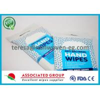 Quality All Natural Antibacterial Wet Wipes Herbal Scent Smell with Essential Oils for sale