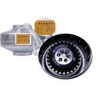 China 120V / 220V Centrifugal Inline Duct Fan , 6 Inch Hydroponic Fan Light Weight on sale