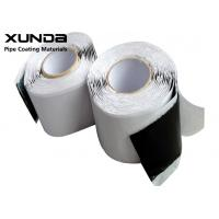 Quality 3 - 15 M Length Butyl Rubber Tape 85 - 105 DMM Penetration Hardness For Sealing for sale