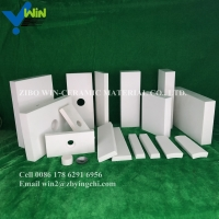 Quality China wholesale alumina ceramic wear resistant spool pipe lining for sale