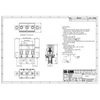 Buy F75-C-7.62 Pitch 7.62mm Head for Pluggable Terminal Blocks Connector at wholesale prices